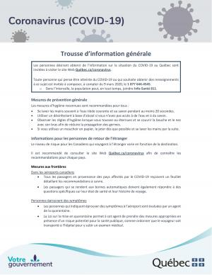 COVID 19 Trousse dinformation page 001